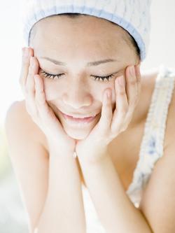 皺を予防する