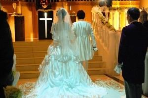 結婚式の返事