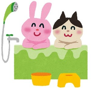 インフルエンザとお風呂