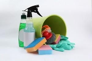 レンジの掃除