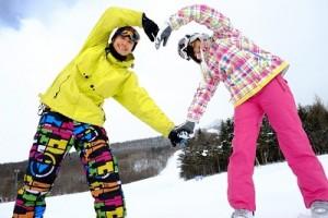 ファミー向けスキー場