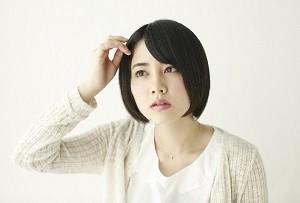20代女性の薄毛