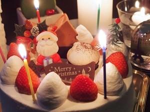 コンビニのクリスマスケーキ