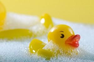 お風呂で洗髪